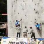 Tim Regu Putri Panjat Tebing Kota Bima Sumbang Medali Emas