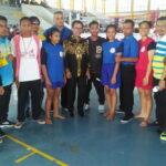 Walikota Bima Saksikan Pertandingan Muaythai dan Suport Atlet