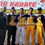 Cabor Karate Kabupaten Bima Raih 5 Perunggu, Sementara Atlet Sepeda Downhill Harus Puas Dapat Perak