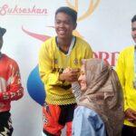 Cabor Balap Sepeda, Fikar Sumbang 1 Medali Emas