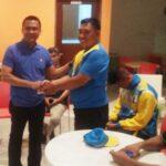 Semangati Atlet Karate, Wakil Walikota Bima Beri Pra Bonus