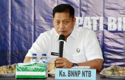 Kepala BNN NTB Ajak Jajaran BNNK Bima Tetap Waspada dan Aktif Perangi Narkoba