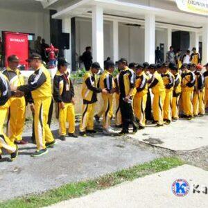 Kontingen Porprov ke-X Kabupaten Bima Dilepas
