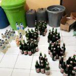 Desember, Polsek Sape Sita Ratusan Botol Miras