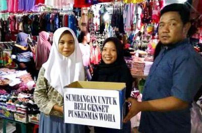 Tangani Pasien Pakai Senter HP, Pemuda Galang Dana Bantu Beli Genset PKM Woha