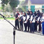 Sekda Lepas Wakil Kota Bima Lomba Marching Band Tingkat Provinsi NTB