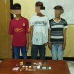 Disergap Karena Sabu-Sabu, 3 Pemuda ini Diseret ke Kantor Polisi