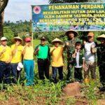 Danrem 162/Wirabhakti dan Walikota Bima Tanam Pohon di Lelamase
