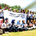 Pewarta Mataram Tandatangani Petisi Cabut Keppres Remisi Pembunuh Jurnalis