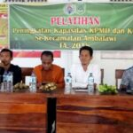 Komunitas Desa Membangun Ambalawi Latih KPMD dan KTD