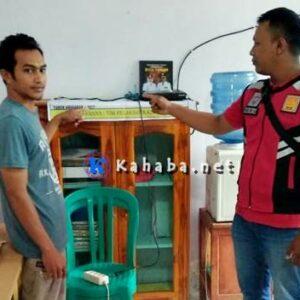 Kantor Pemdes Lewintana Dibobol Maling, TV dan Printer Raib
