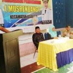 Musrenbang, Is Fahmin Paparkan Usulan Pembangunan Kecamatan Asakota