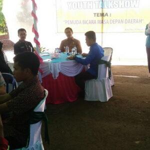 Youth Tolkshow KNPI, Muthmainnah: Pemuda Berkarya Nyata Jawab Tantangan Pembangunan