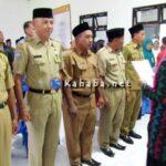 Camat Bolo Lantik 5 Penjabat Kepala Desa