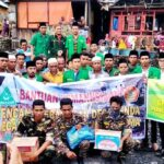 GP Anshor dan Banser Bantu Korban Kebakaran di Desa Renda