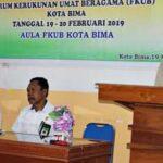 Buka Rapat Kerja FKUB, Achmad Fathoni: Mari Bergandengan Tangan Untuk Kerukunan Umat