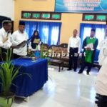 Kepala Kemenag Kota Bima Lantik 7 Pejabat Struktural dan Fungsional