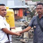 Bawaslu Kabupaten Bima Urunan Bantu Korban Kebakaran di Renda