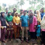 Terus Raih Simpati Rakyat, Nazamuddin Silahturahim Dengan Poktan dan Perguruan Silat