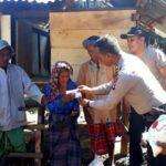 Polres Bima Bantu Perbaiki Rumah Nenek Miskin di Soromandi
