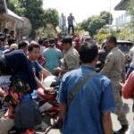 APPDL Demo Pemdes Leu, BUMDes Dituding Perkaya Diri
