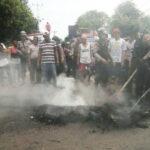 Kapolres Temui Keluarga Korban Pembunuhan, Blokir Jalan Dibuka