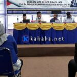 Farouk Muhammad Jaring Aspirasi di STIE Bima