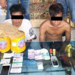 Resmob Tangkap Penerima Paket Narkoba di Jasa Pengiriman