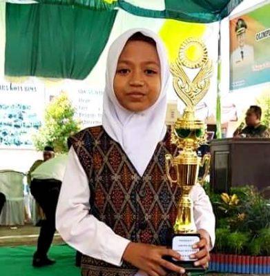 Hebat, Kiran Wibawanti Raih Juara 1 Olimpiade Sains Nasional