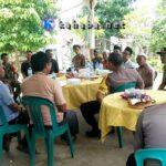 Jelang Pemilu, Kapolres Silaturahmi di Donggo dan Imbau Warga Jaga Kamtibmas