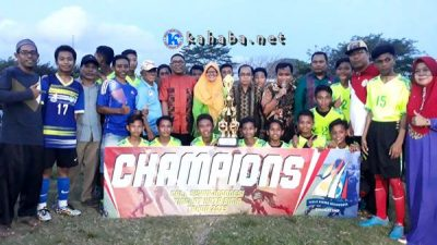 Menang Drama Adu Penalti, SMPN 1 FC Pertahankan Gelar Juara Gala Siswa Cup