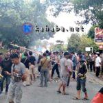 Tuntut Pelaku Penusukan Ditangkap, Warga Blokir Jalan Sekitar PKU Muhammadiyah