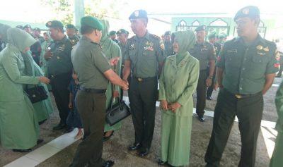 27 Personil TNI Kodim 1608 Bima Naik Pangkat