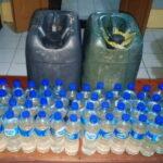 Operasi Pekat Gatarain Dimulai, Puluhan Botol Miras Disita