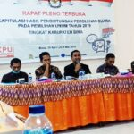 KPU Kabupaten Bima Mulai Gelar Pleno Rekapitulasi