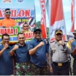 Lomba Triathlon HUT Kota Bima Ke-17, Atlet Palembang Raih Juara