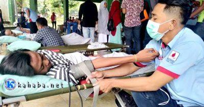 Peduli Sosial, KSR-PMI STISIP Adakan Donor Darah