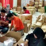 KPU Kota Bima Distribusi Logistik di Luar Kotak Suara