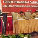 Feri Paparkan Rencana Pembangunan Kota Bima Saat Rapimda Persiapan RKPD NTB 2020