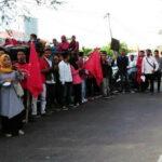 Demo Hari Buruh, FPR Desak Dewan Buat Perda UMK Bima