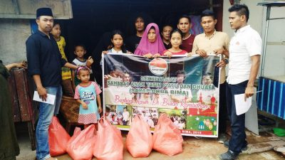 Bulan Ramadan, Sayap Dhua Bima Santuni Anak Yatim
