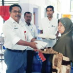 255 KK Dapat Bantuan Beras Dari Dinas Ketahanan Pangan