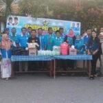 KNPI Kota Bima Versi Abdul Azis Berbagi Dengan Kaum Dhuafa