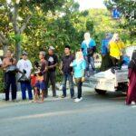 KNPI Kota Bima Keliling Bagi-Bagi Sembako