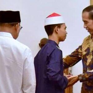 Presiden Jokowi Bertemu Juara MTQ Internasional Asal Bima