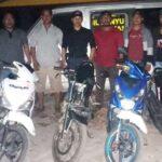 Polisi Amankan 4 Unit Motor Hasil Curanmor