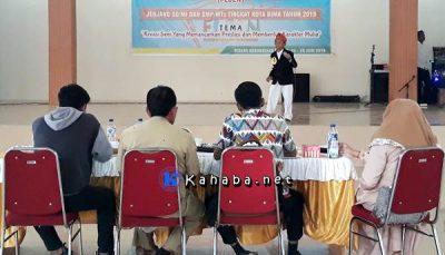 Festival Seni Siswa Sekolah FLS2N tingkat SD SMP sederajat se Kota Bima