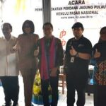 Wawali Bima Lepas Pengiriman Ratusan Ton Jagung Menuju Pasar Nasional