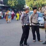 Puluhan Personil Polsek Bolo Amankan Sholat Idul Fitri