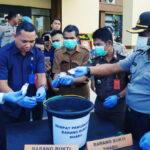 Polres Bima Kota Musnahkan 82,52 Gram Sabu-Sabu